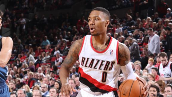 Short-handed Blazers rally to beat Wolves