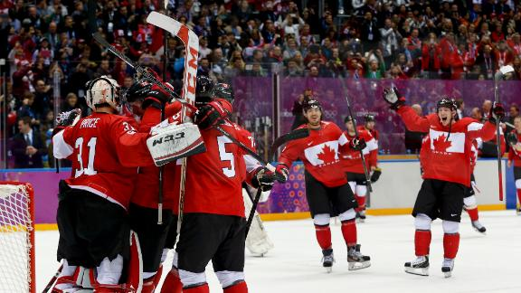 Canada shuts out Sweden to defend gold medal