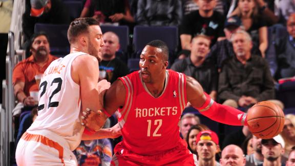 Beverley's late 3 helps Rockets escape Suns