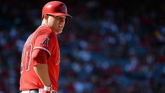 Scioscia: Contract talks won't distract Trout