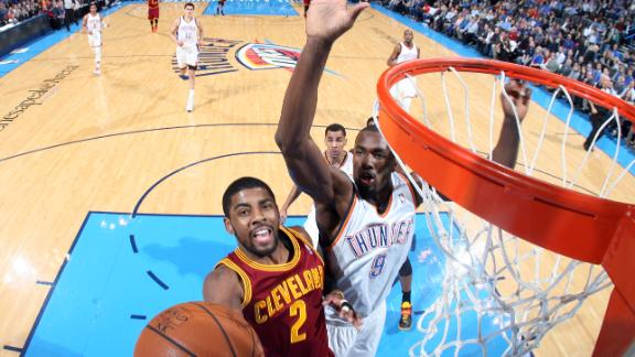 Video - Irving, Cavs Keep Thunder Falling
