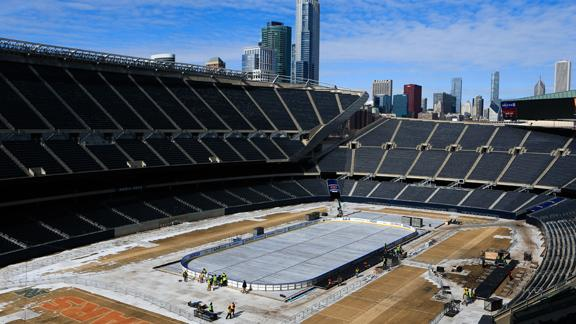 Cold may postpone Hawks-Pens outdoor game
