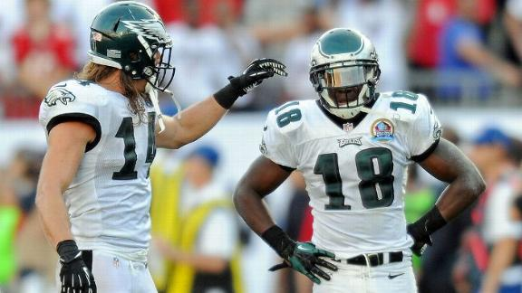 Eagles give new contracts to Cooper, Kelce