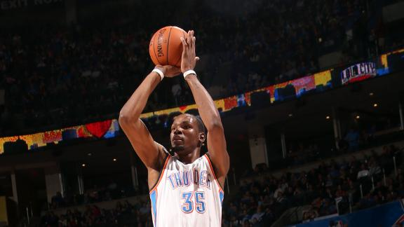Durant, Thunder snap 3-game slide vs. Griz