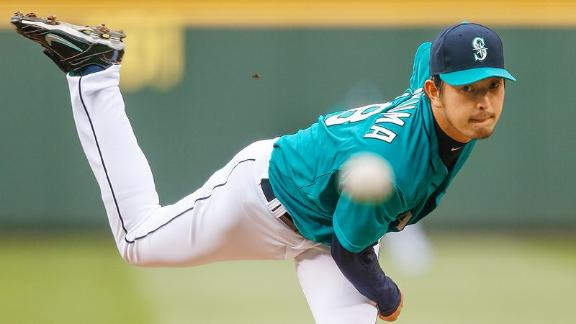 Timetable For Mariners' Iwakuma, Walker