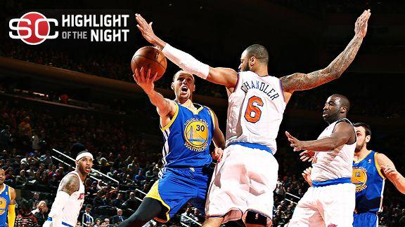 Video - Warriors Rout Knicks