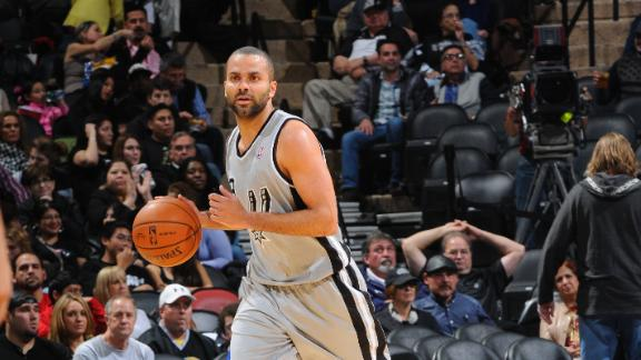 Video - Parker Returns In Spurs' Win