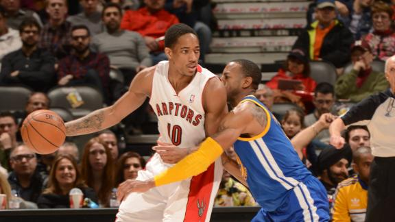 Video - Raptors Take Down Warriors