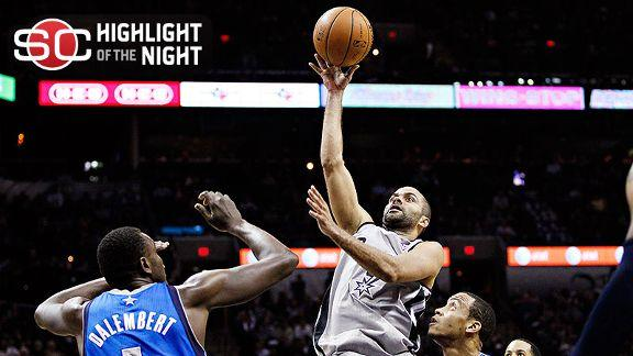 Parker returns, leads Spurs over Mavericks