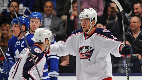 Blue Jackets Edge Maple Leafs