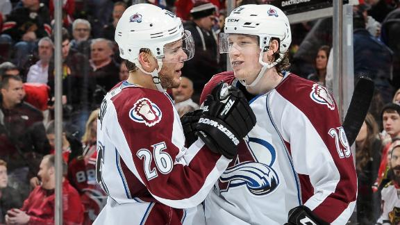 Avs Double Up Blackhawks