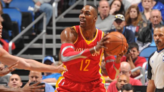Video - Howard, Rockets Cruise In Orlando
