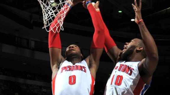 Pistons Out-Executed by Bulls