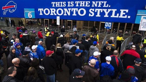 No Canada: Bills won't play in Toronto in '14