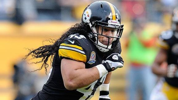 Steelers Extend Polamalu, Miller