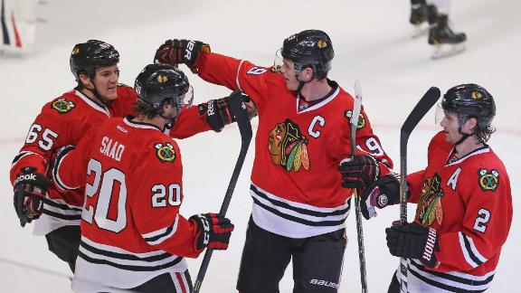 Video - Toews, Blackhawks Crush Blue Jackets