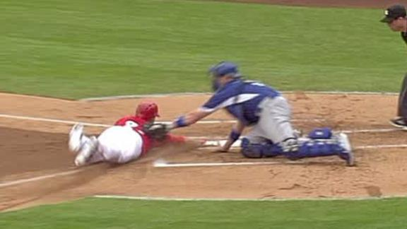 Video - Puig, Dodgers Throw Out Trout