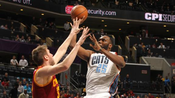 Video - Jefferson Lifts Bobcats Past Cavs