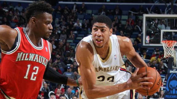 Video - Davis Powers Pelicans Past Bucks