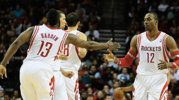 Rockets turn on burners in 3rd, rout Pacers