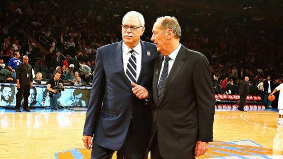 Source: Phil considers Knicks front-office job