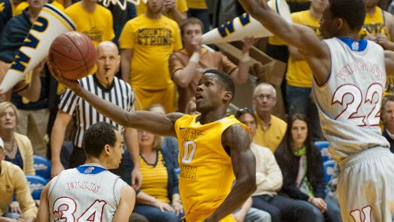 West Virginia Overcomes Wiggins' 41 Points