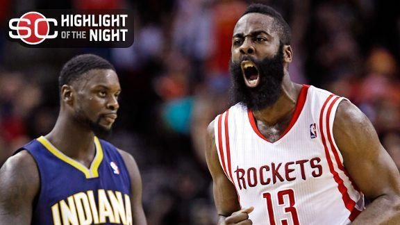 Rockets Blow Out Pacers