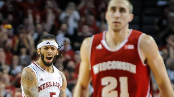 Nebraska Upsets Wisconsin