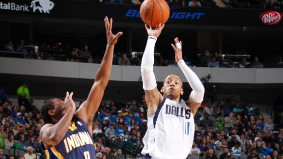 Mavericks extend Pacers' slide to 4 games