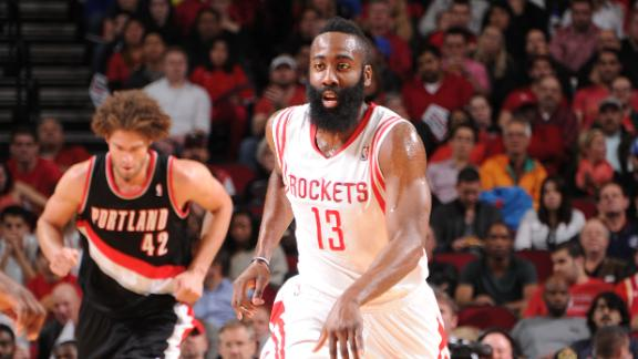Harden, Rockets Prevail In OT