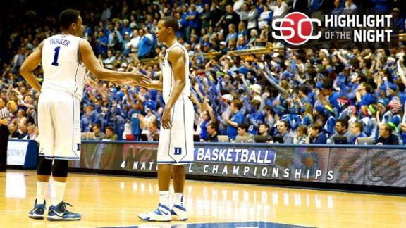 Parker's BIg Night Propels Duke