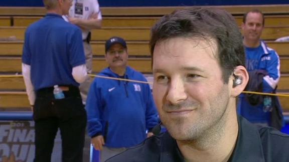 Romo Talks Duke Win, Coach K