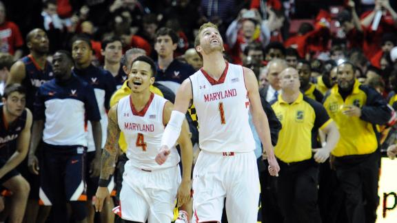 Maryland Upsets Rival Virginia In ACC Finale