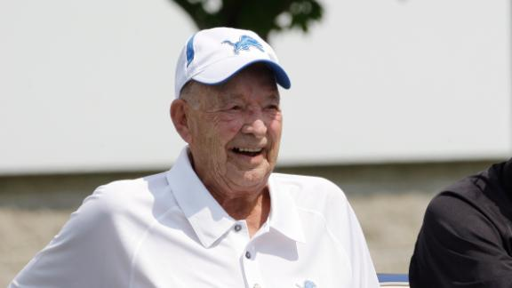 Remembering Lions Owner William Clay Ford Sr.