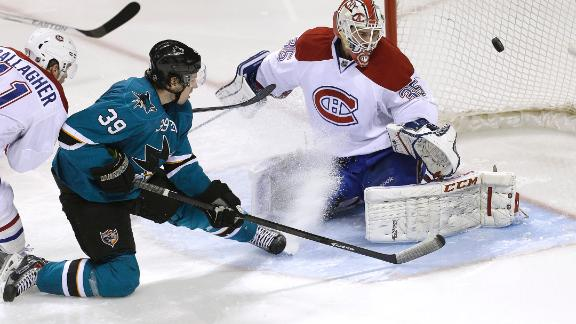 Sharks Blank Canadiens