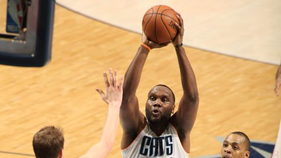 Jefferson Leads Bobcats Past Nuggets