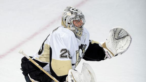 Video - Fleury, Penguins Blank Capitals