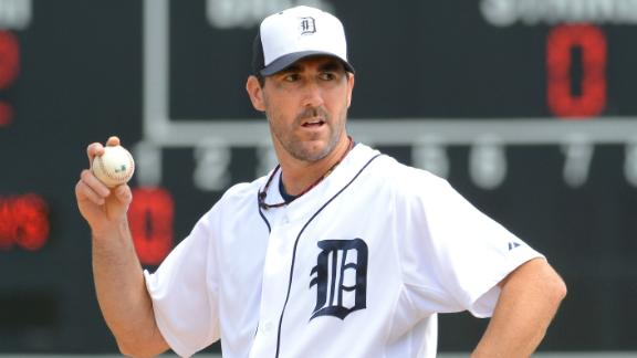 Verlander Solid In Debut