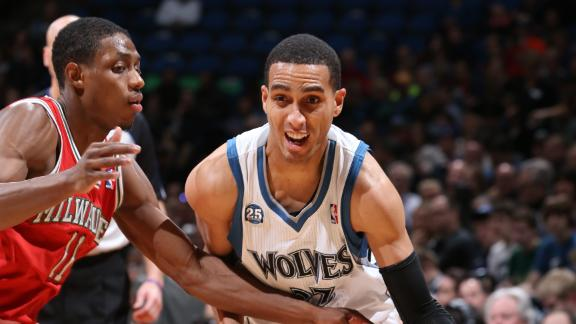 Wolves Rally Past Bucks