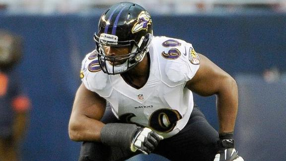 Ravens agree with LT Monroe, sources say