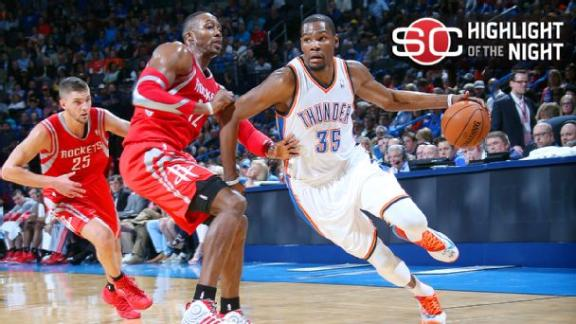 Video - Westbrook, Beverley Go At In Thunder Win