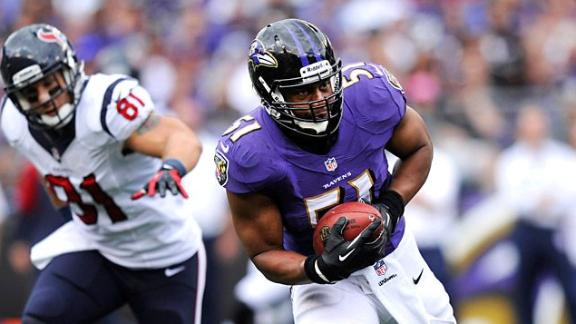 Sources: Ravens keep LB Smith for $16.1M