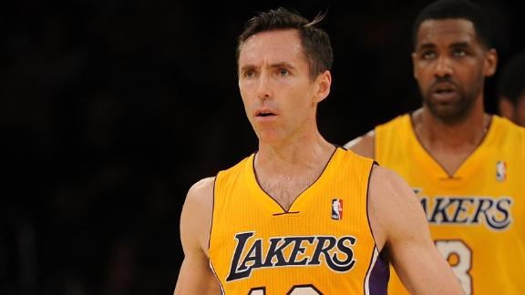 D'Antoni rules Nash out for rest of season