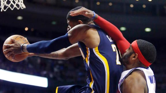 Down 25, Pacers rally to beat Pistons in OT