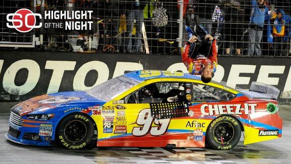 Edwards Takes Checkered Flag At Bristol