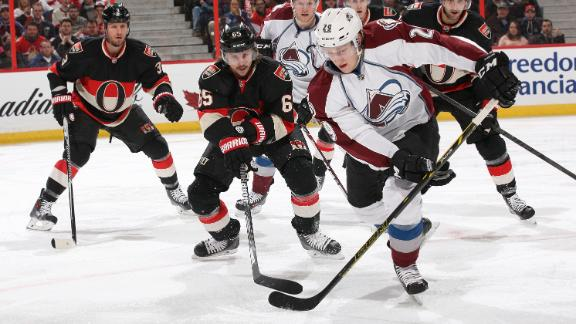 Video - Avalanche Hold Off Senators