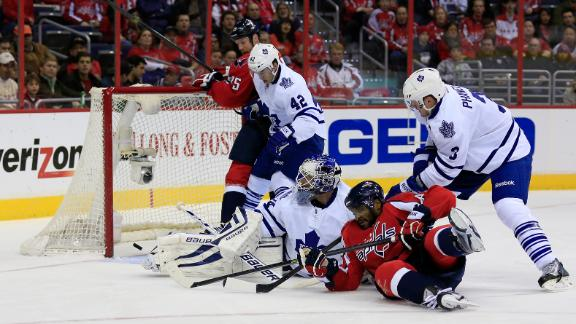 Video - Ward, Brouwer Help Caps Double Up Leafs