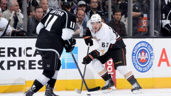 Video - Ducks Prevail After Kings' Goal Waived Off
