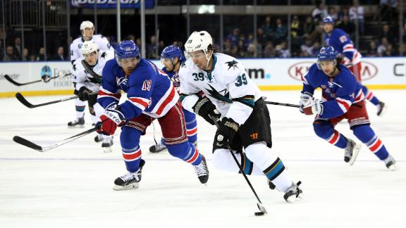 Video - Couture's Short-Handed Goal Lifts Sharks