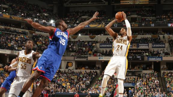 Pacers send Sixers to 21st straight defeat